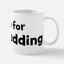 I Live for Dog Sledding Mug