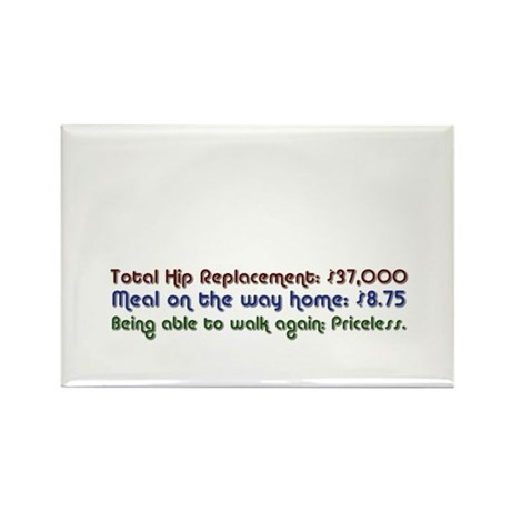 HipReplace Rectangle Magnet (10 pack)