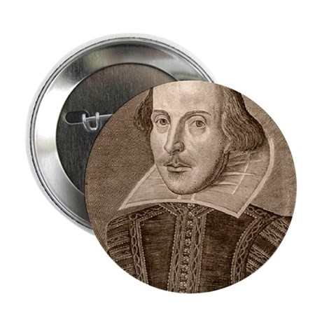 """William Shakespeare 2.25"""" Button (10 pack)"""