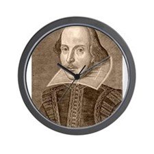 William Shakespeare Wall Clock