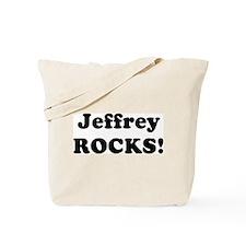 Jeffrey Rocks! Tote Bag