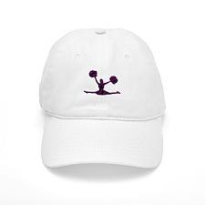 CHEERLEADER-3zebra2 Baseball Baseball Cap