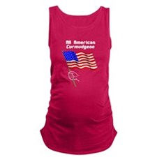 All American Curmudgeon Maternity Tank Top