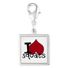 I <3 Squats Charms