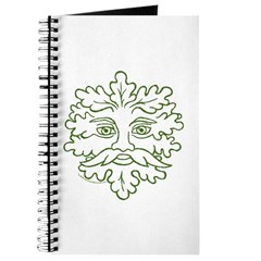 Weathered GreenMan Journal