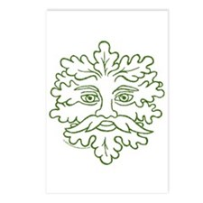 Weathered GreenMan Postcards (Package of 8)