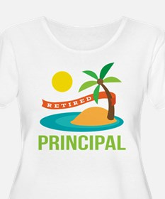 Retired Principal Plus Size T-Shirt