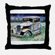 End Of My Years Throw Pillow