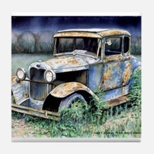 classic car coasters cork puzzle tile coasters cafepress. Black Bedroom Furniture Sets. Home Design Ideas