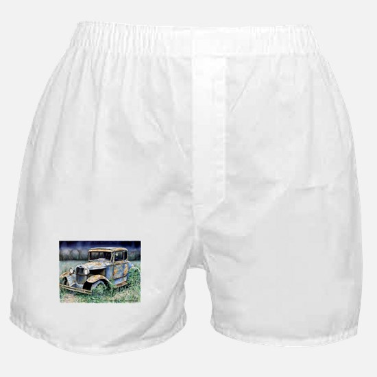 End Of My Years Boxer Shorts