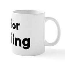 I Live for Heliskiing Mug