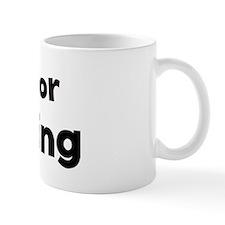 I Live for Climbing Mug