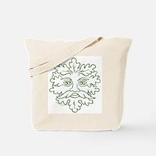 Weathered GreenMan Tote Bag