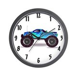 Monster truck Wall Clocks