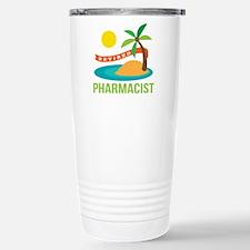 Retired Pharmacist Gift Travel Mug
