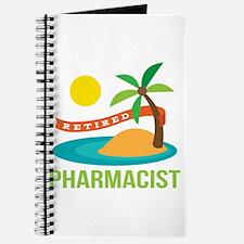 Retired Pharmacist Gift Journal