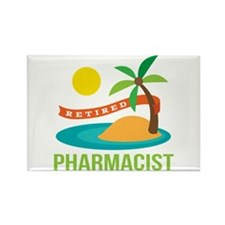 Retired Pharmacist Gift Rectangle Magnet