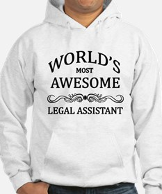 World's Most Awesome Legal Assistant Hoodie