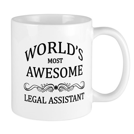 World's Most Awesome Legal Assistant Mug