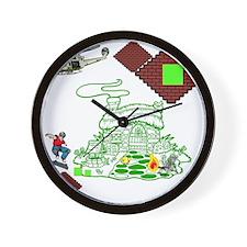 blockcraft Wall Clock