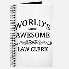 World's Most Awesome Law Clerk Journal