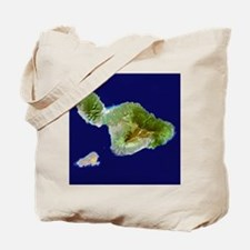 Maui & Kaho`olawe from Landsat Tote Bag