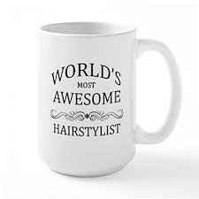 World's Most Awesome Hairstylist Mug