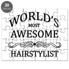 World's Most Awesome Hairstylist Puzzle