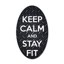 STAY FIT Wall Decal