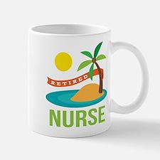 Retired Nurse (tropical) Mug