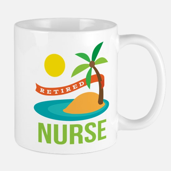 Retired Nurse (tropical) Mug