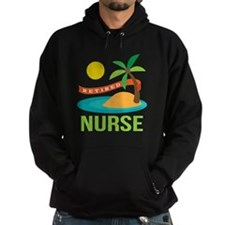 Retired Nurse (tropical) Hoodie