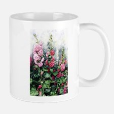 High Ho the Holly Hocks Small Small Mug