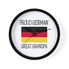 German Great Grandpa Wall Clock