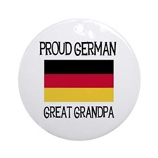 German Great Grandpa Ornament (Round)