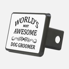 World's Most Awesome Dog Groomer Hitch Cover