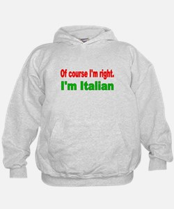 Of course Im right Hoodie