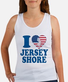 I love jersey shore Women's Tank Top