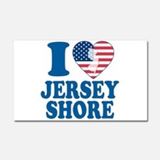 I love jersey shore Car Magnet 20 x 12
