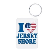 I love jersey shore Keychains