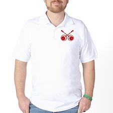 crossed banjos red T-Shirt