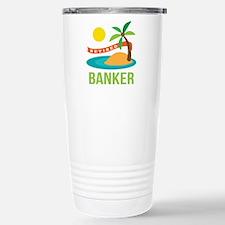 Retired Banker Travel Mug