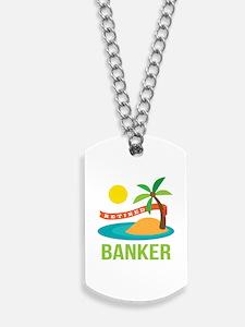 Retired Banker Dog Tags
