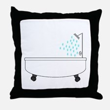Bathtub Throw Pillow
