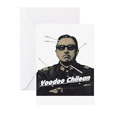 Voodoo Chilean Greeting Cards (Pk of 10)