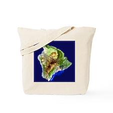 Big Island from Landsat Tote Bag