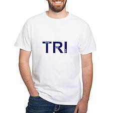 White TRI t-shirt