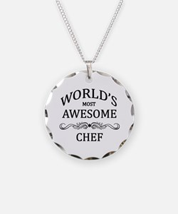 World's Most Awesome Chef Necklace