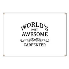 World's Most Awesome Carpenter Banner