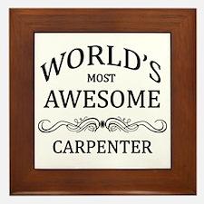 World's Most Awesome Carpenter Framed Tile